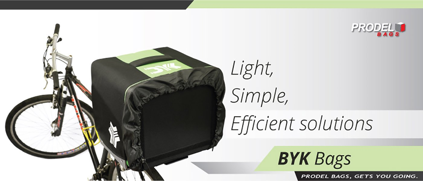 Light, simple, efficient delivery bags from Prodel