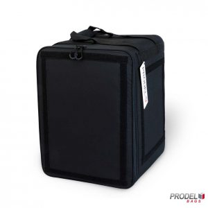 PRD 21-33 black backpack delivery bag from front