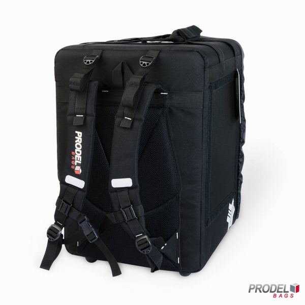 food delivery backpack back view
