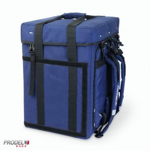 backpack delivery bag side view
