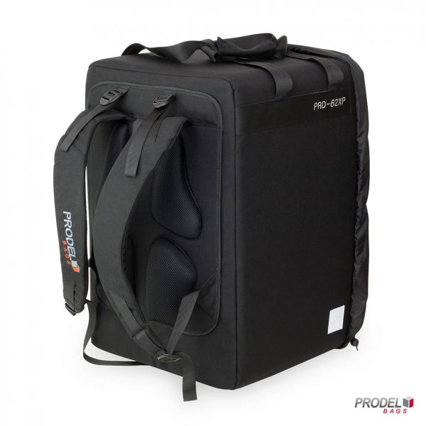 Thermal food delivery backpack rear PRD 62XP
