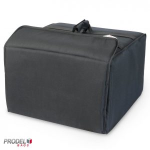 insulated pizza delivery bag front view