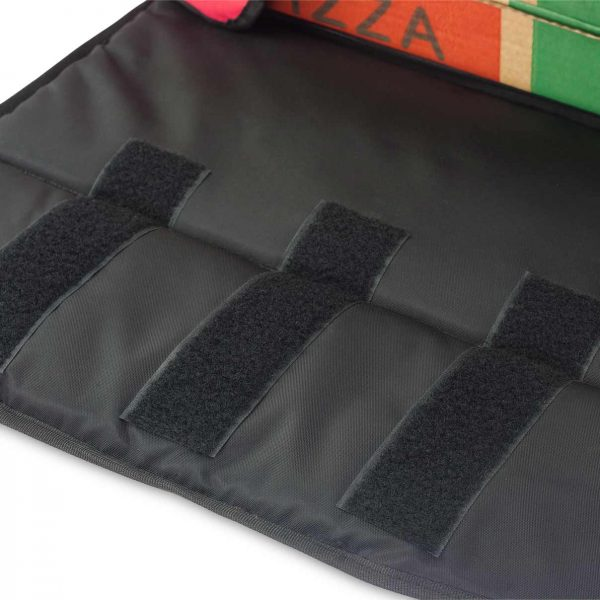 pizza delivery bag triple velcro