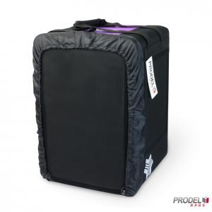 BYK violet insulated bag for food delivery front view