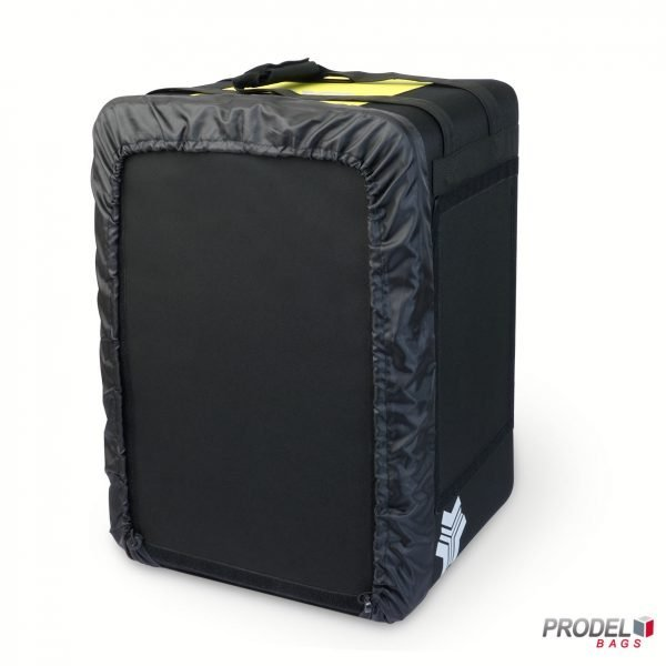 BYK yellow delivery bag for hot food front view