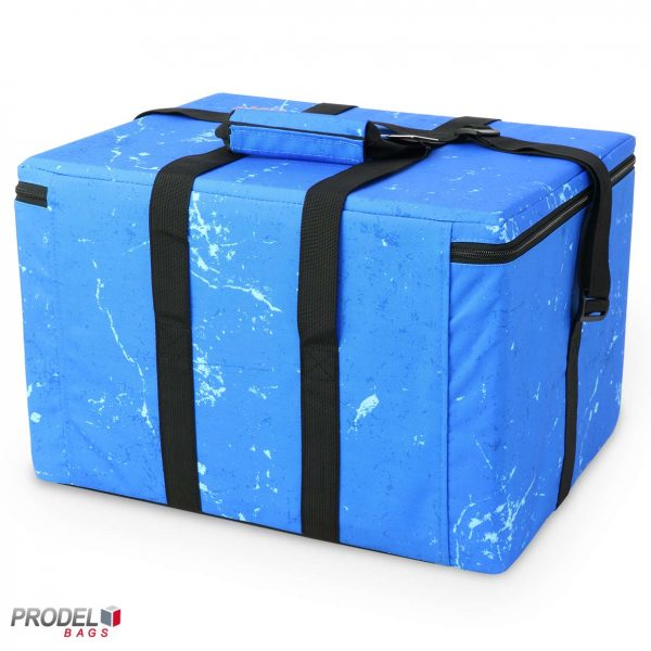 cooler bag for frozen food back view