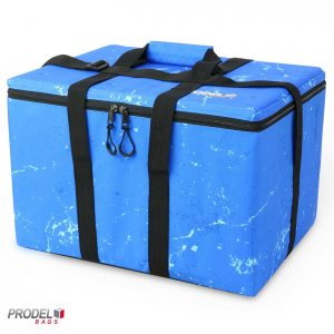 frozen food carrier bag front view
