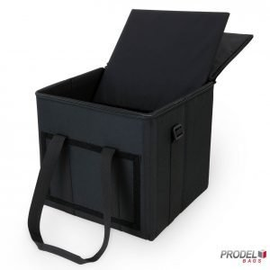 portable pizza warmer bag shelf removed