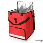 Prodel Swift lc24 Red Foldable Multi Compartment Bag